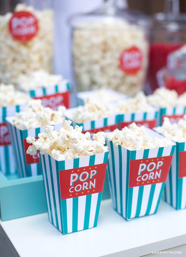 Summer Movie Night Popcorn