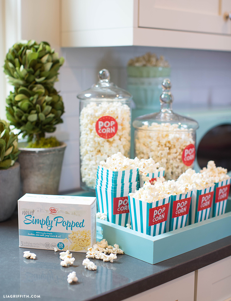 Simply Popped Popcorn Boxes