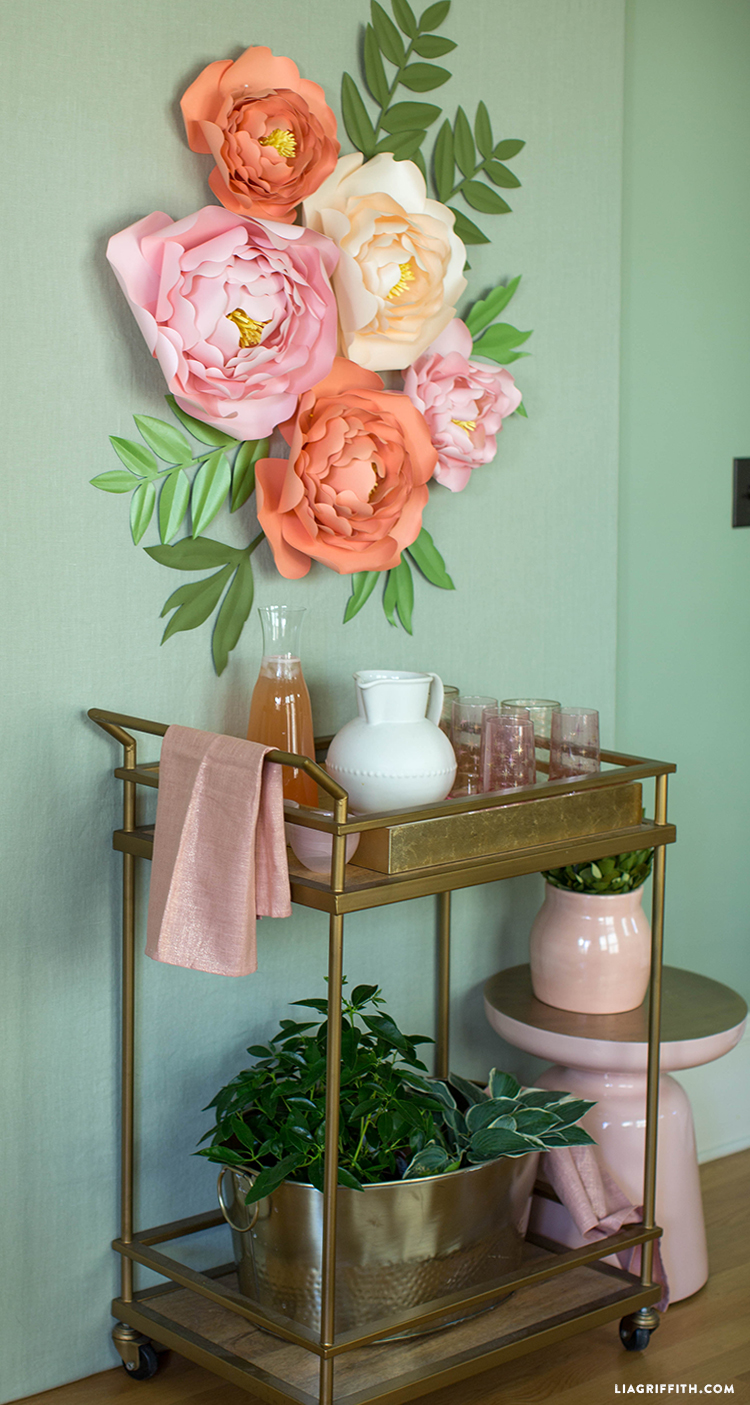 Peonies Backdrop