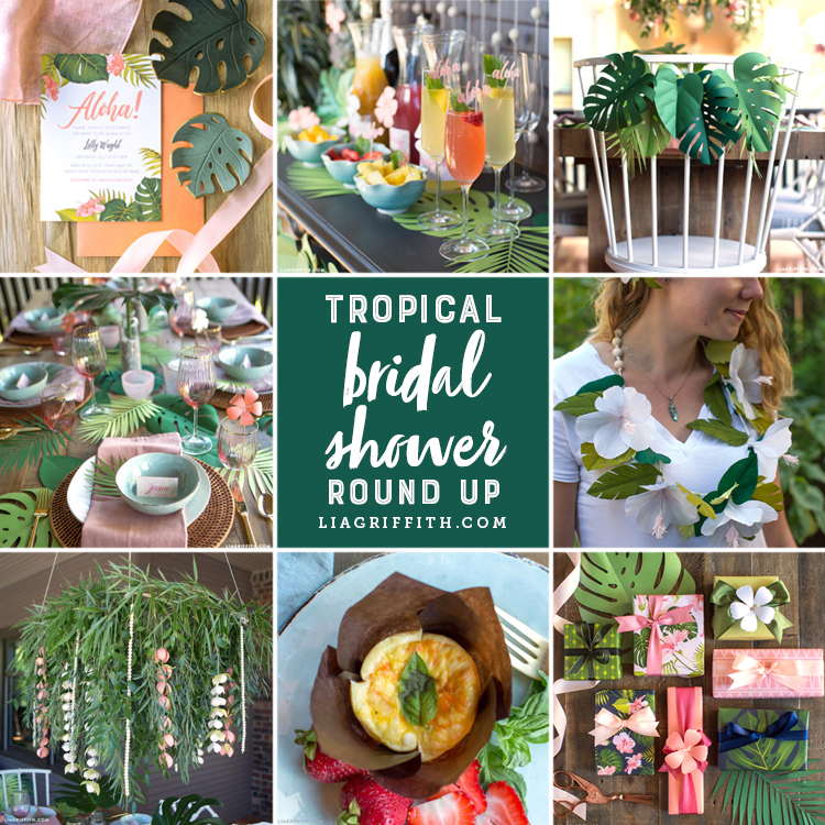 Beat The Heat With A 100 Diy Tropical Bridal Shower