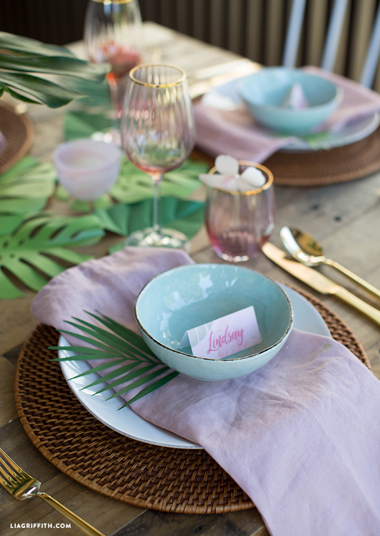 Bridal Shower Brunch Place Cards