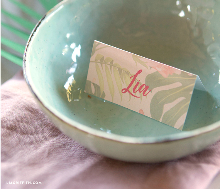 Shower Brunch Place Cards