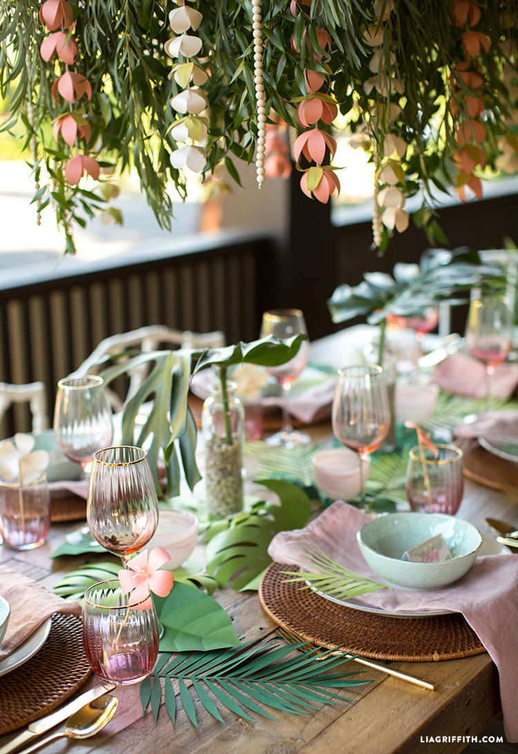 Bridal Shower Table Decor