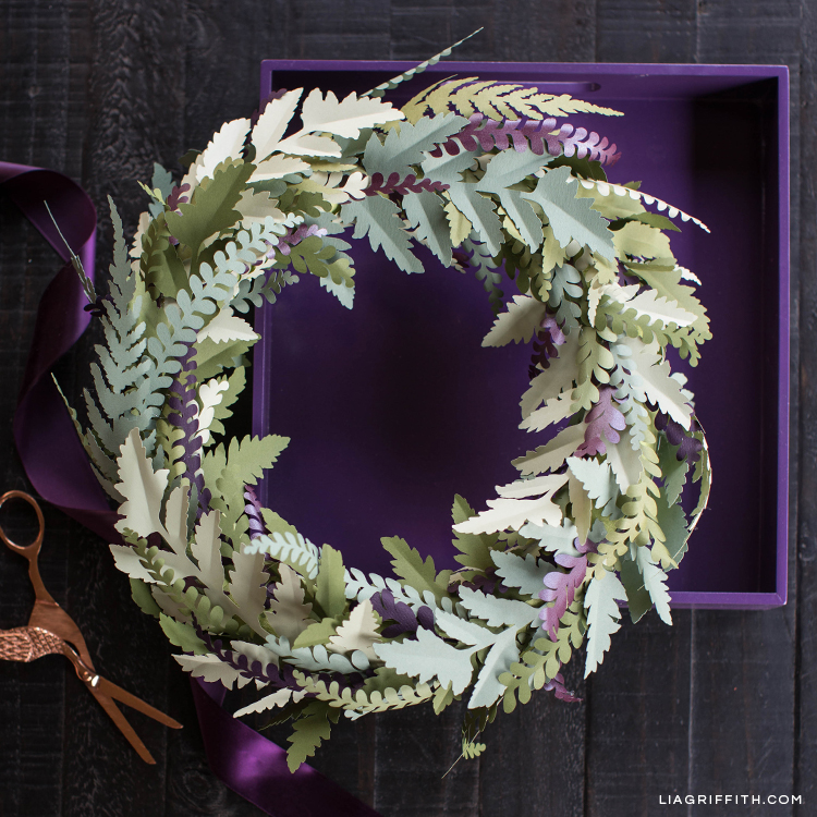 how to make your own diy fall wreath lia griffith