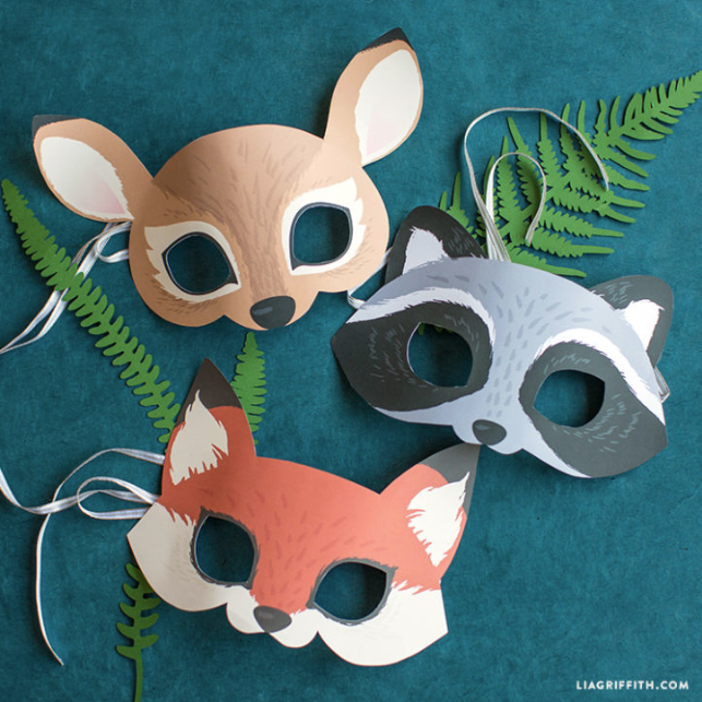 printable animal mask