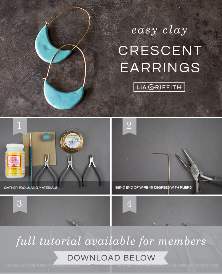 Photo Tutorial How To Make Polymer Clay Earrings Lia Griffith