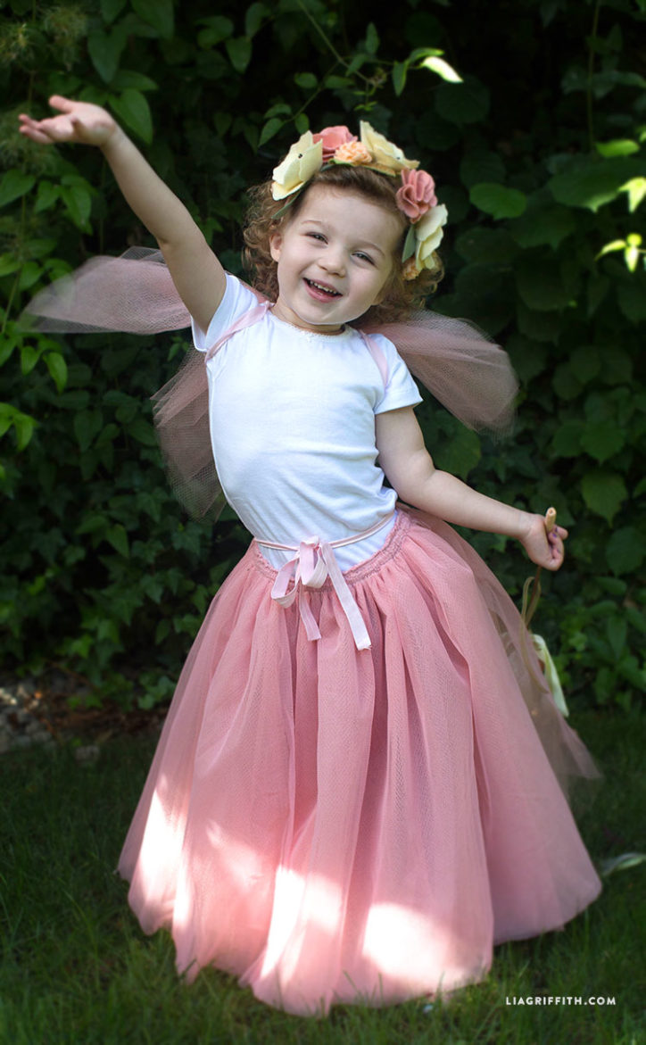Kid's DIY fairy costume