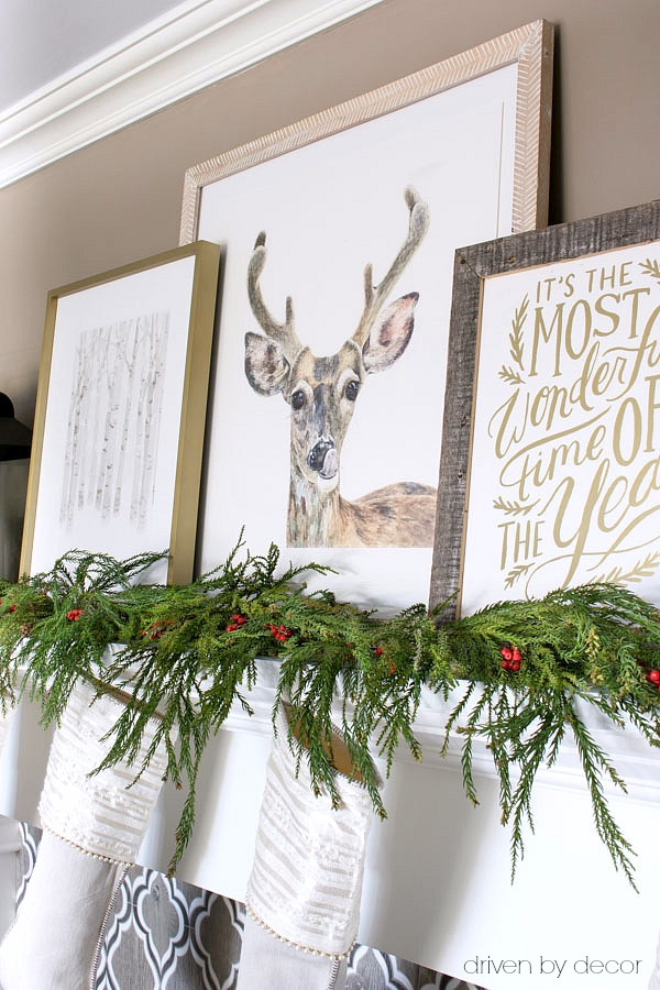 Holiday art prints