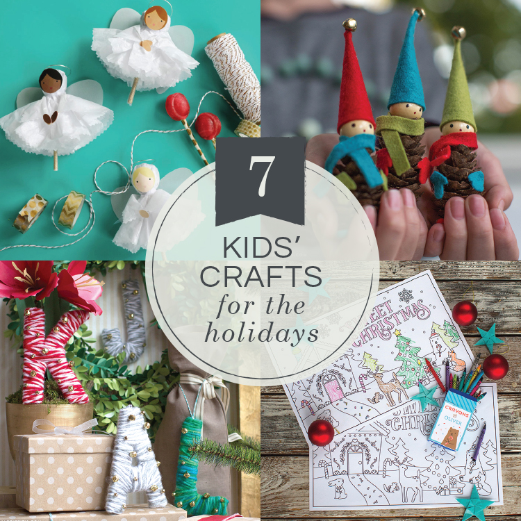7 Fun Easy Christmas Crafts For Kids Lia Griffith
