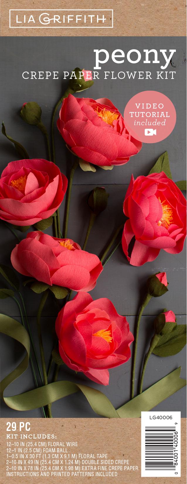 Crepe Paper Flower Kit Yeder Berglauf Verband Com