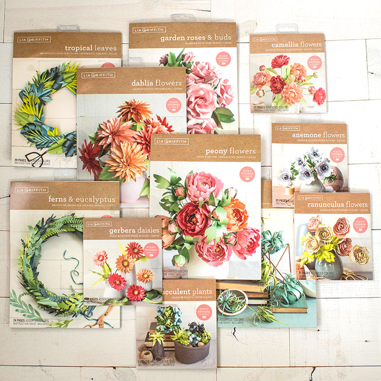 Introducing Our New Frosted Paper Flower Kits Lia Griffith