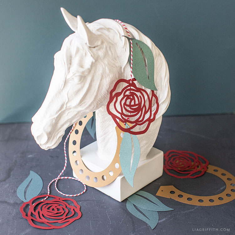 Diy Party Decorations Kentucky Derby Banner Lia Griffith