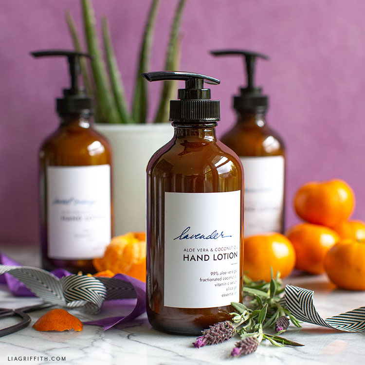 lavender homemade lotion