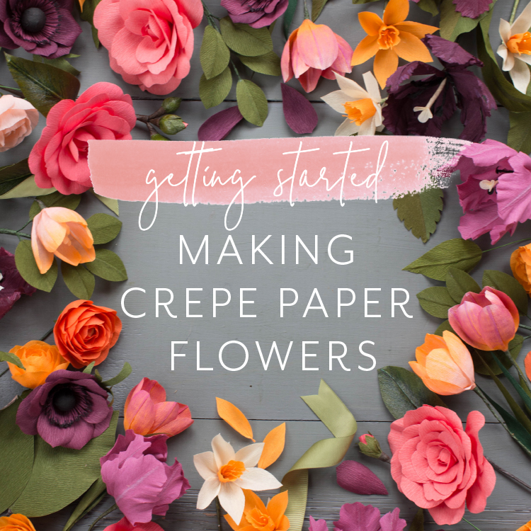 Getting Started Making Crepe Paper Flowers Lia Griffith