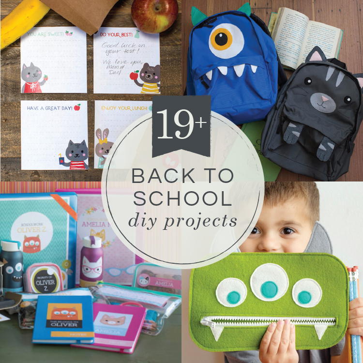 19 Back To School Diy Projects Your Kids Will Love Lia Griffith
