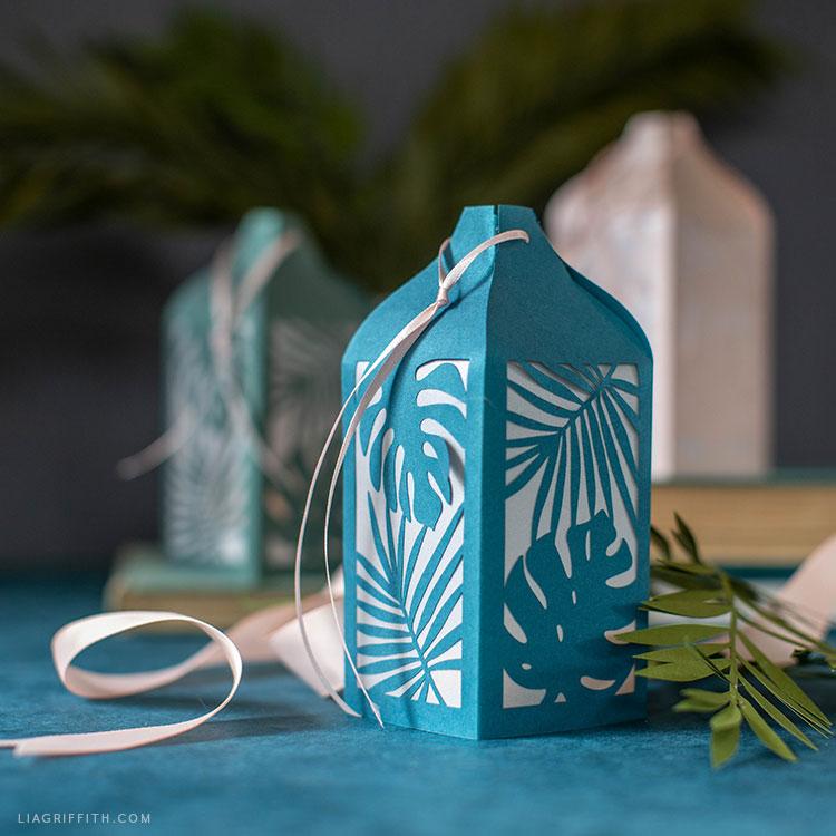 tropical paper lanterns