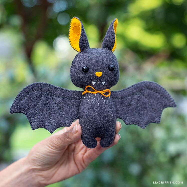 cute felt baby bat stuffie