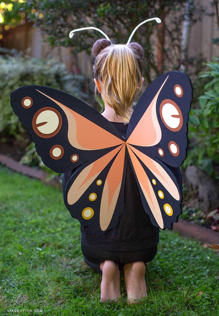 kids' butterfly costume