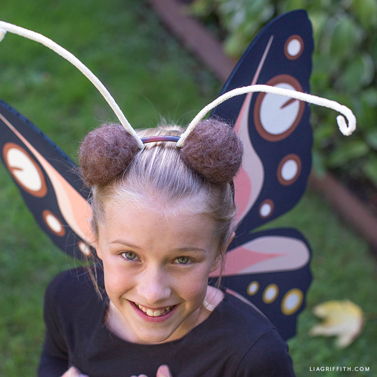 handmade butterfly costume