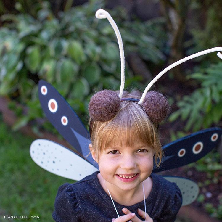 handmade dragonfly costume
