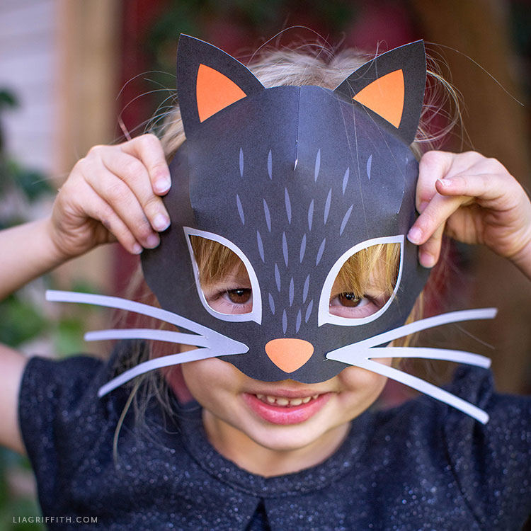 printable cat mask