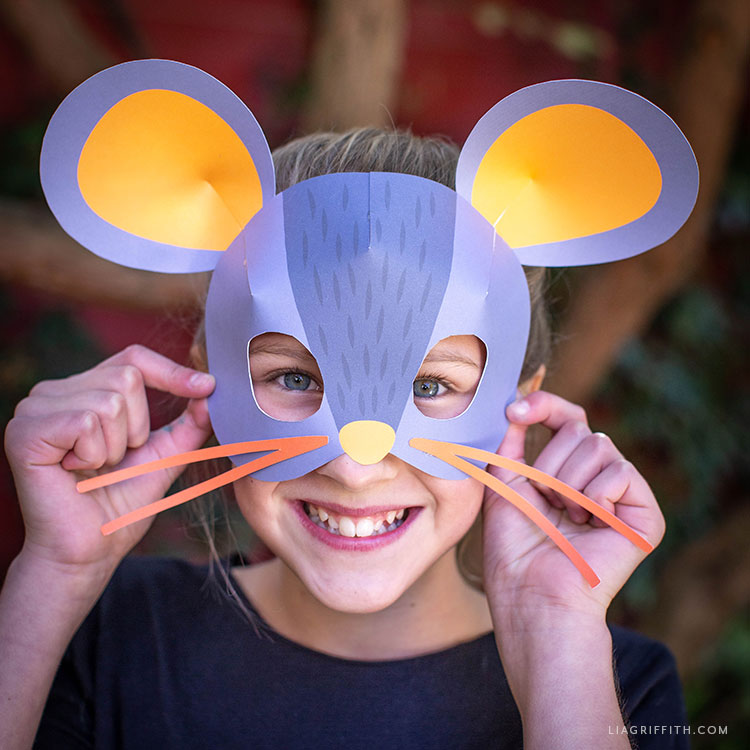 printable mouse mask