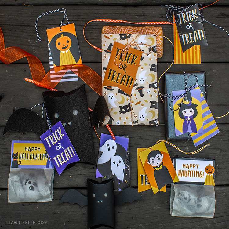 printable gift tags for Halloween