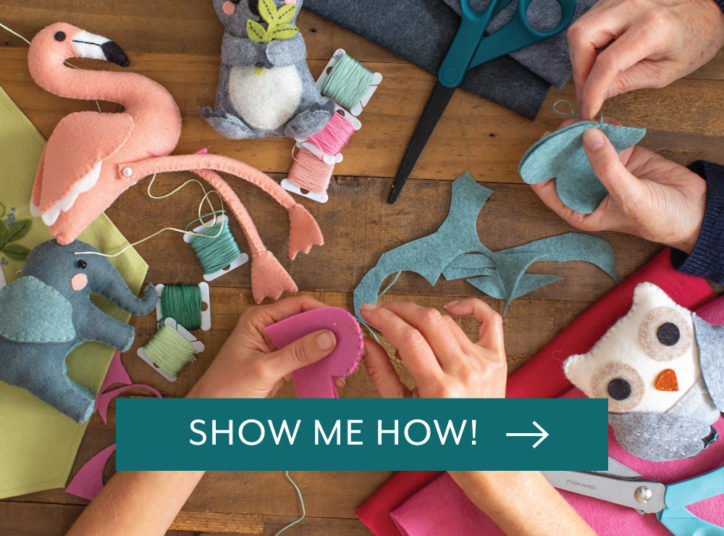 Show me how to get started with Felt Crafts!