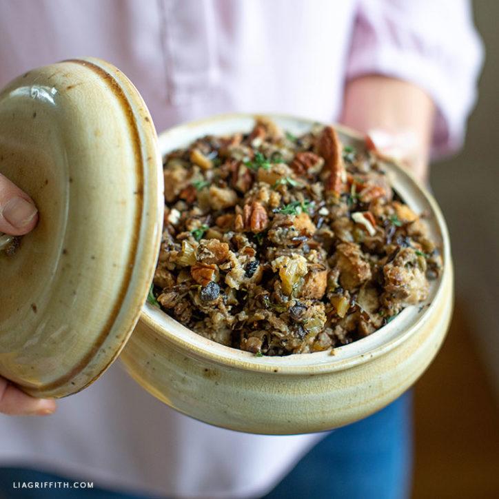 gluten-free wild rice stuffing