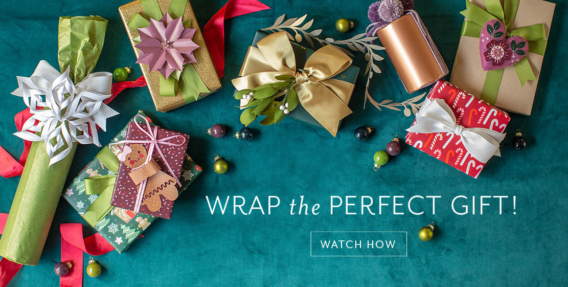 Wrap the Perfect Gift! Click to watch how.