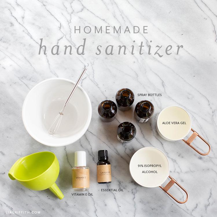 hand sanitizer recipe
