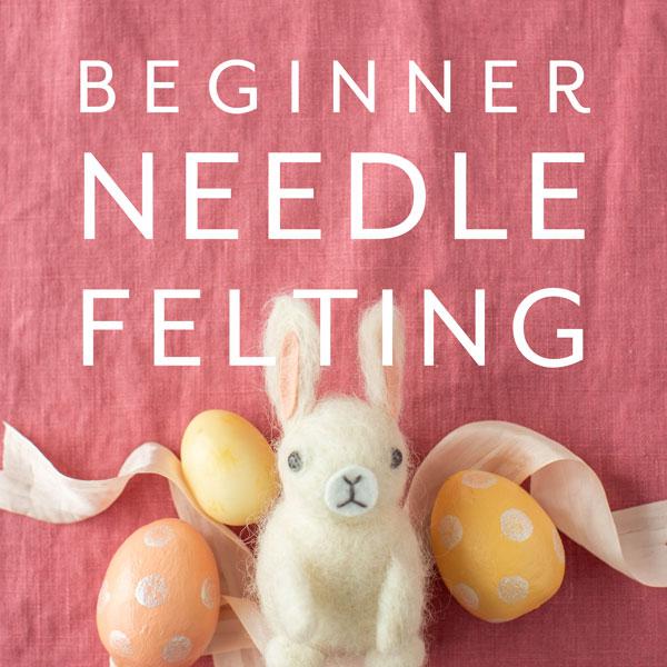 Beginner Needle Felting