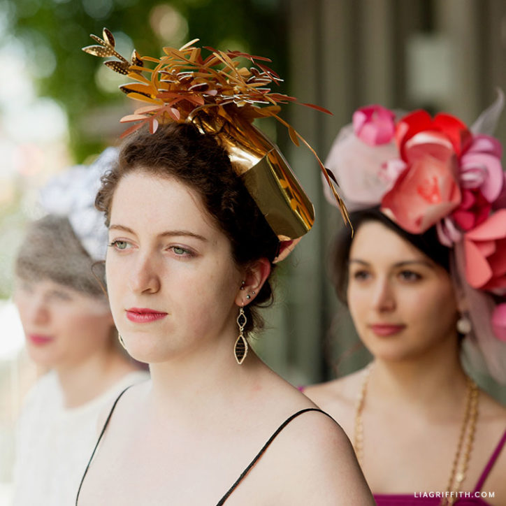 handmade Kentucky derby fascinators