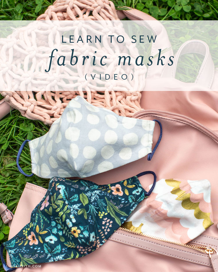 learn to sew fabric masks