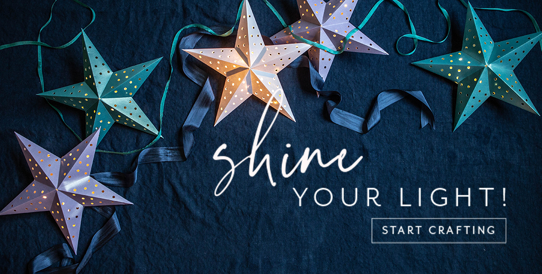 Shine your light and start crafting!