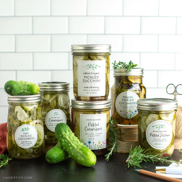 free printable canning labels