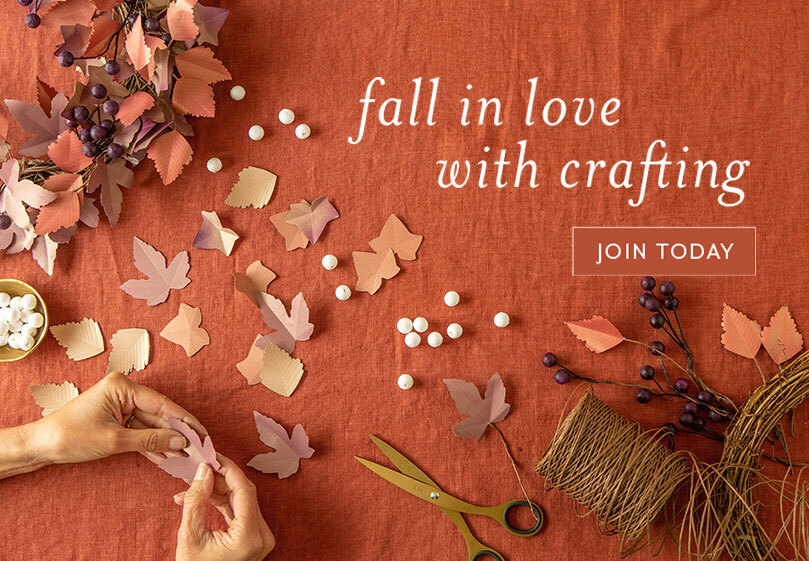 Fall in Love with Crafting! Join Now