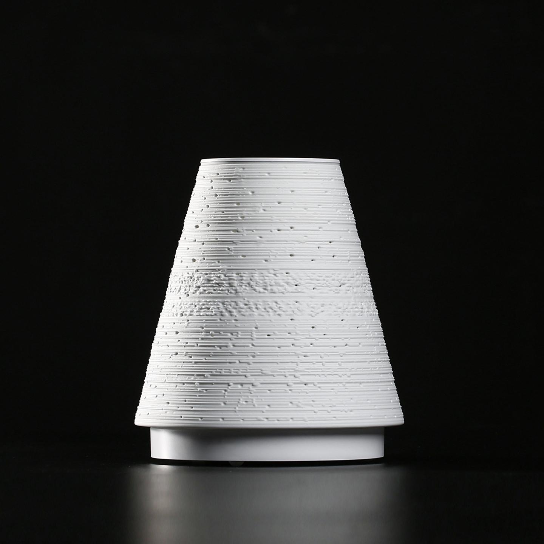 The intelligent eggshell porcelain lamp