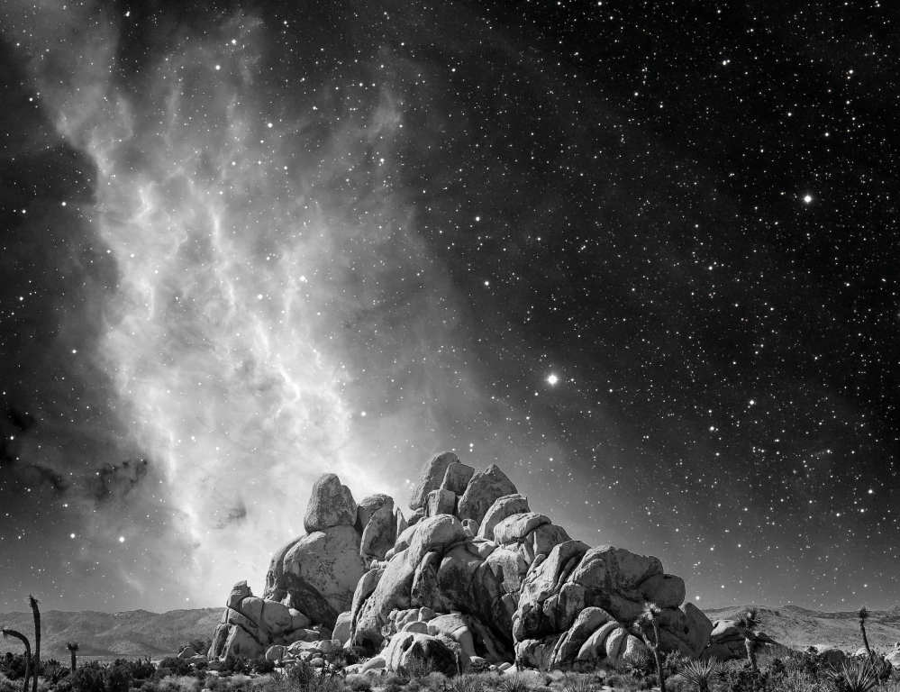 California Nebula Rising