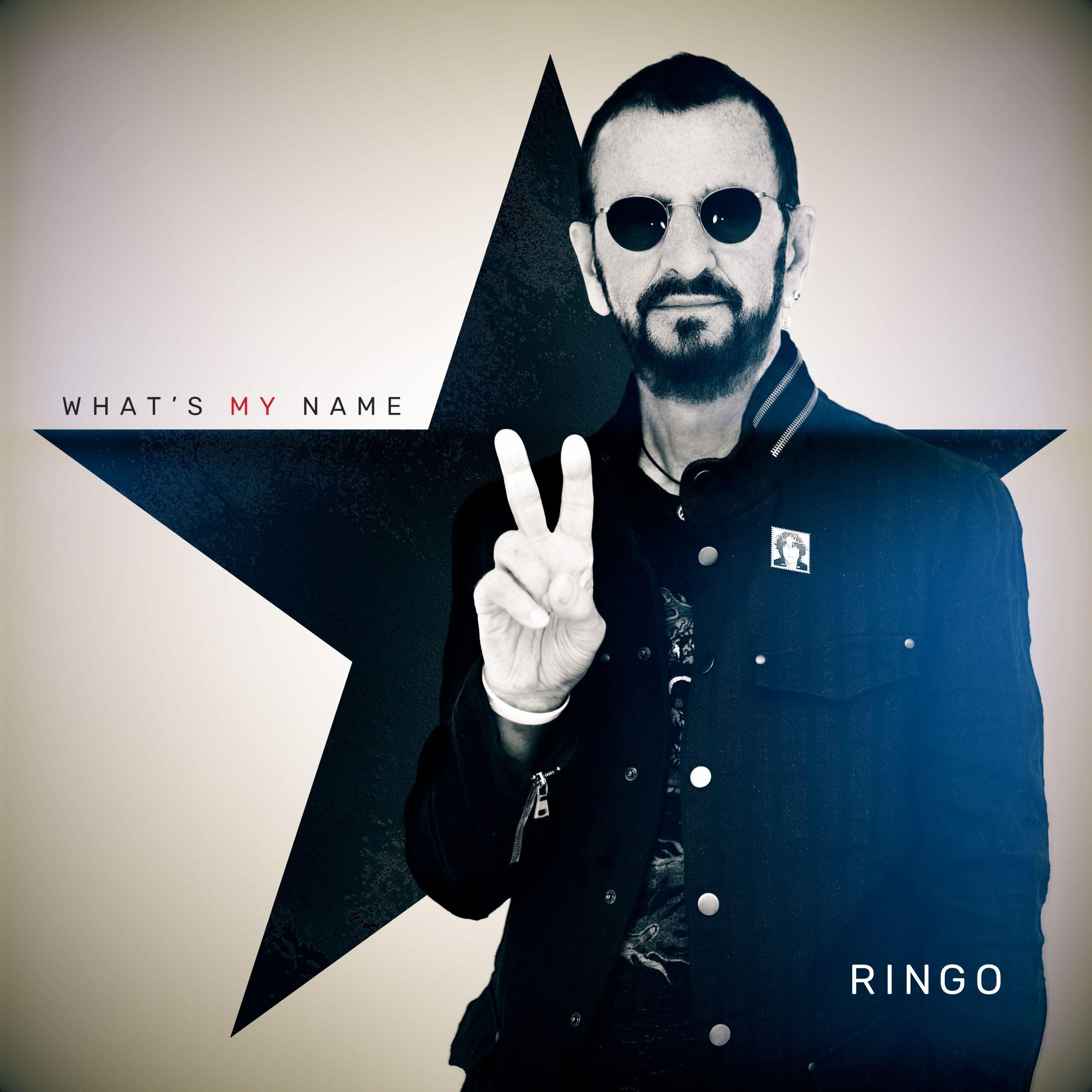 ringo starr what's my name album cover