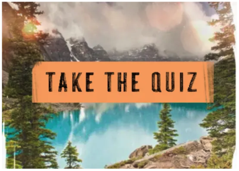 take the travel personality quiz