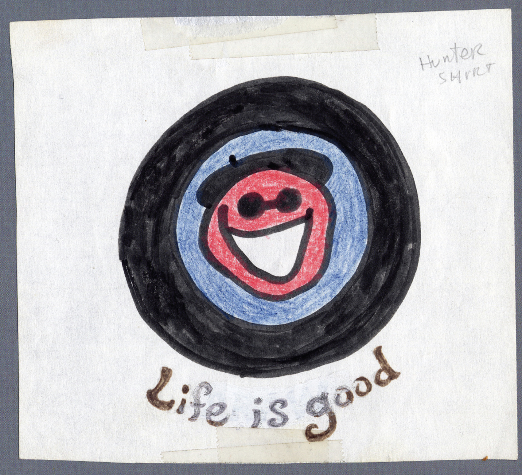 original life is good jake drawing