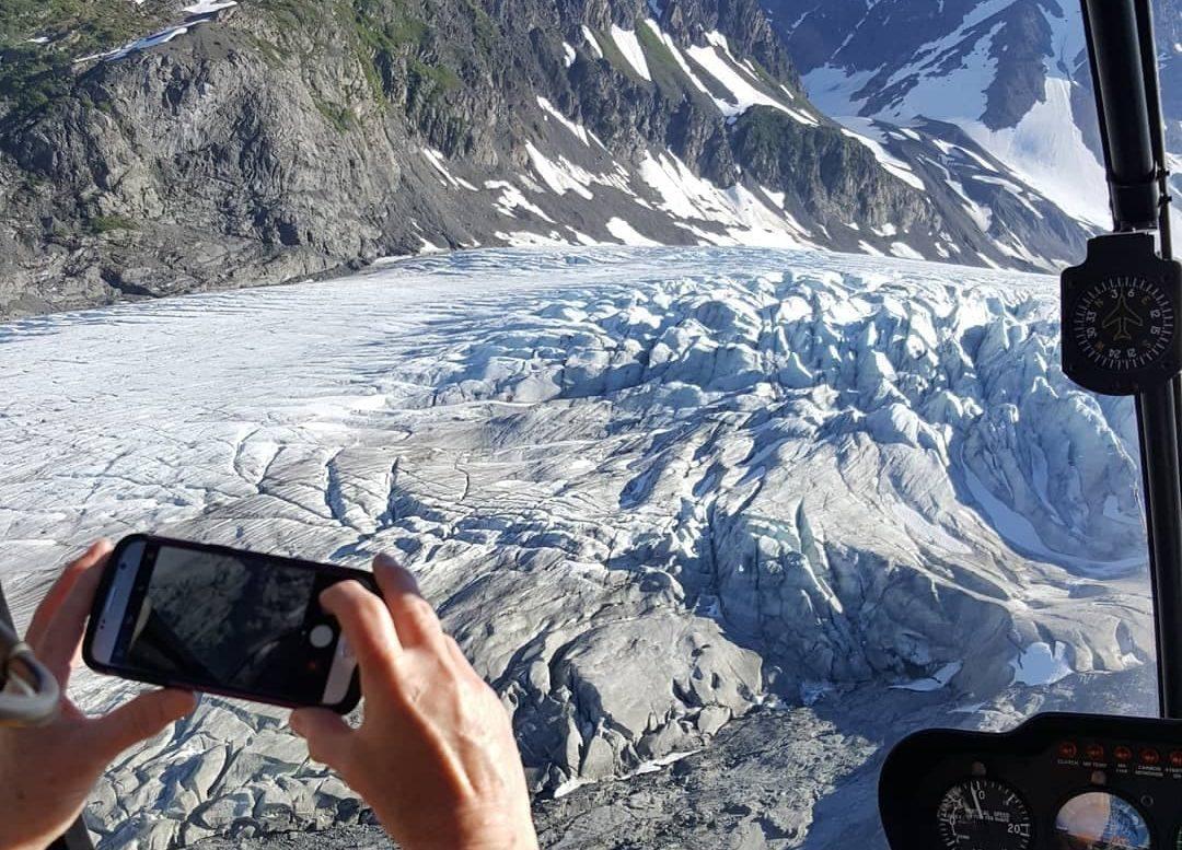 Seward Alaska glaciers
