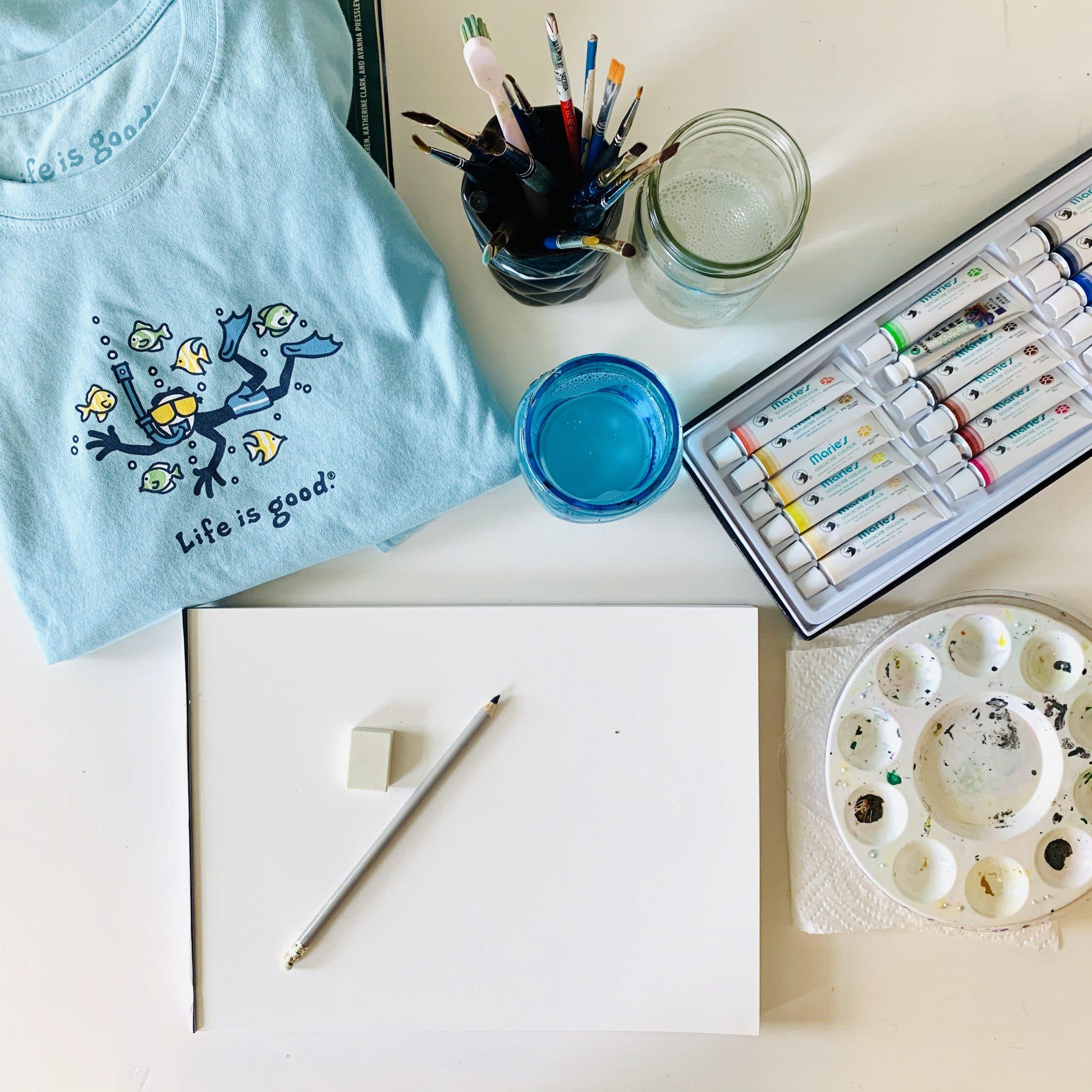 Watercolor Materials