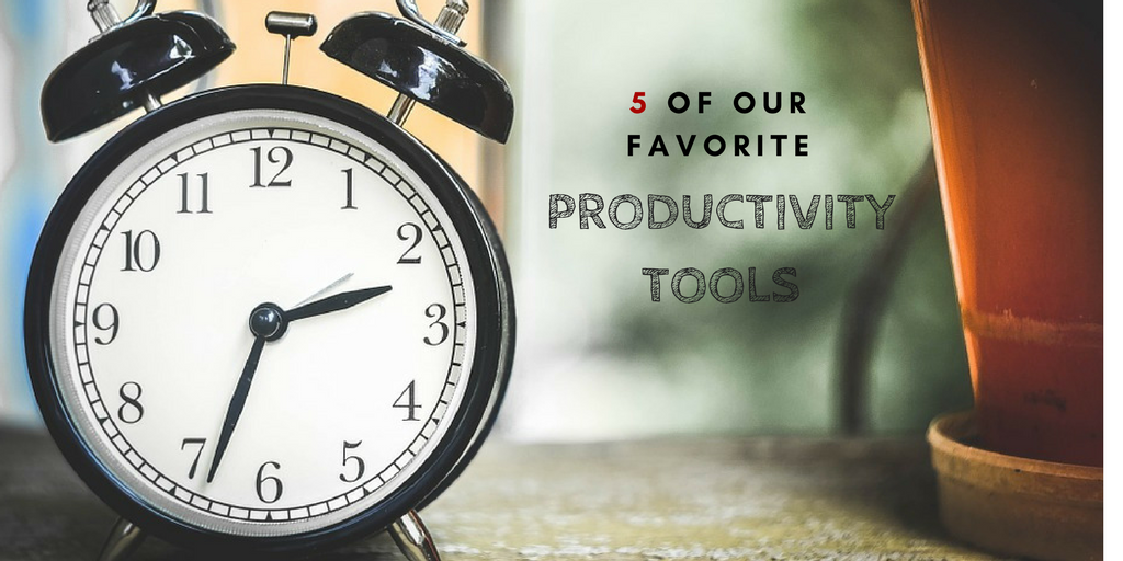 5 best productivity tools