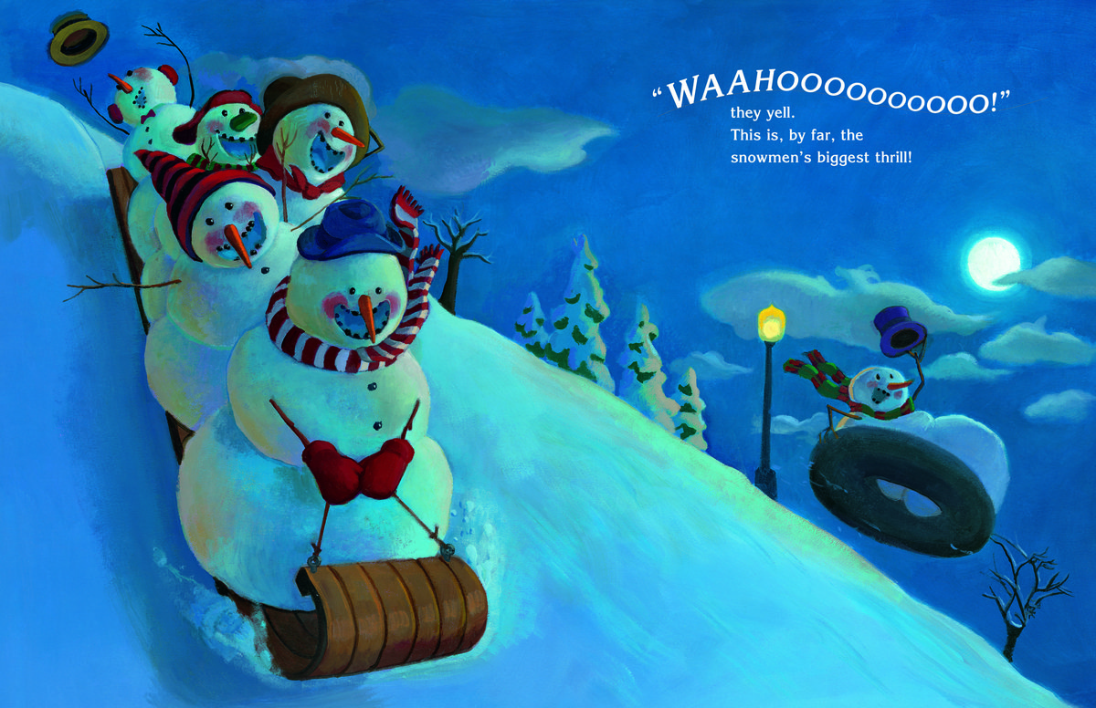 Snowmen At Christmas.Five Questions For Children S Book Author Caralyn Beuhner