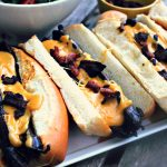 Sausages with Beer Cheese Sauce