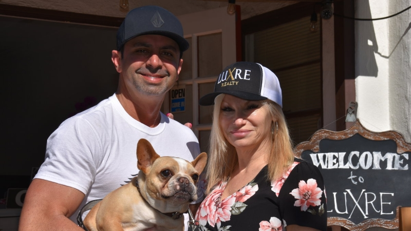 Pet Adoption day at Luxre Realty in San Clemente 5