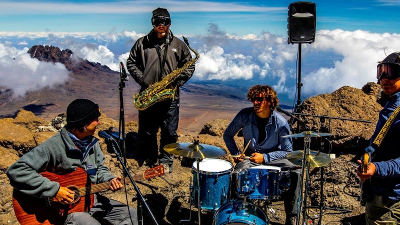 San Clemente's Tunnel Vision Summits Mt. Kilimanjaro, and Performs! 2