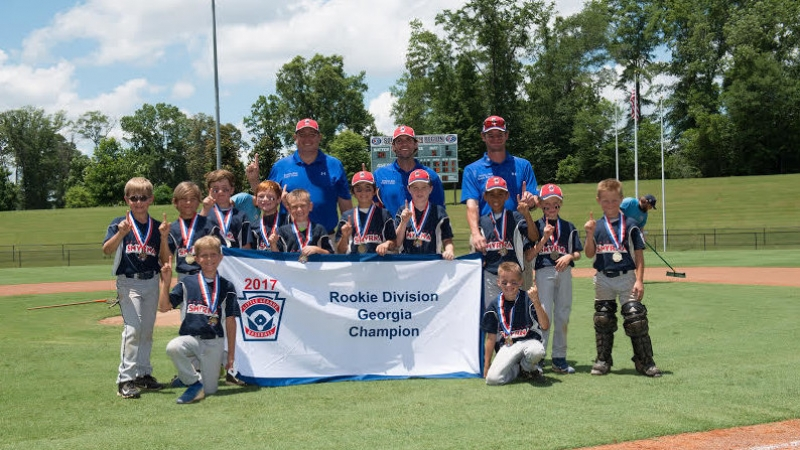 Smyrna Little League's Rookie Blue All-Star Team 2